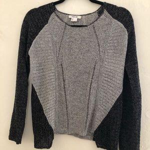 Helmut Lang Cotton Blend Lightweight Sweater